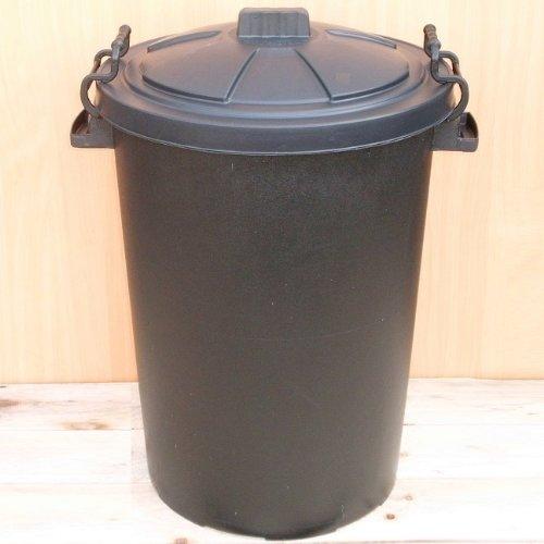 Black 50 Litre Bin/Storage For Homes Gardens Animal Feed (Make In The UK) Test