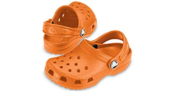 8a5a1128288ea3 Crocs Kids Cayman Shoes Orange UK 9 10 US 10 11  Amazon.co.uk  Shoes   Bags