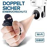 WLAN IP Kamera Indoor,1080P FREDI IP HD Camera,Haustier Kamera,Baby Camera Monitor,Cloud Speicherung,mit Bewegungserkennung Nachtsicht