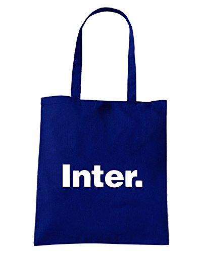T-Shirtshock - Borsa Shopping OLDENG00336 inter Blu Navy