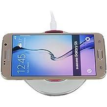Expower (R) Cargador inalámbrico estándar qi para Google Nexus 5y Goole Nexus 7II FHD Tablet y Goole Nexus 4y Samsung Galaxy Note 3, S4, S3y Note 2y Nokia Lumia 920y 820y Iphone5s Iphone5Iphone4S