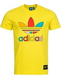 MONO COLOR TEE PHARRELL YEL - Tee shirt Homme Adidas