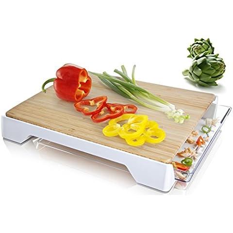 Tomorrow's Kitchen 4685260 - Tabla de cortar, color blanco