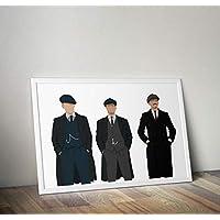 Peaky Blinders Inspiré Poster Print cadeaux - Alternative Séries Télévisées Affiches en différentes tailles (cadre non inclus)