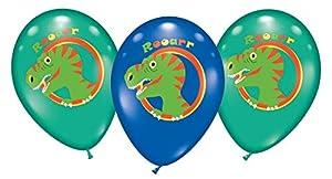 Karaloon 30091-15 - Globos de látex (28 - 30 cm), Color Azul y Verde
