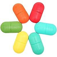 MIUSON Tablettenbox Neue 6-teilige Tablette Pille Aufbewahrungsbox Medicine Organizer Container Holder Case Care preisvergleich bei billige-tabletten.eu