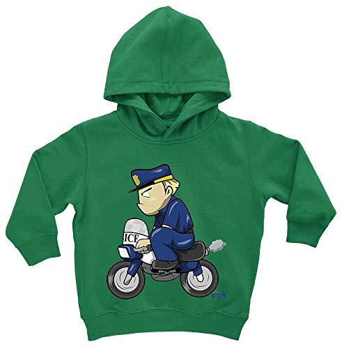 Kostüm Ungewöhnliche Baby - HARIZ Baby Hoodie Polizist Lustig Motorrad Polizei Lustig Plus Geschenkkarten Frosch Quietsch Grün 1-2 Jahre