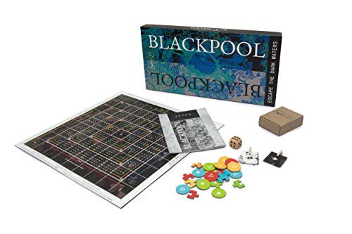 Nonserious Games Blackpool Strategy & Racing Board Game for Teens/Adults/Senior Citizens; Age: 12+