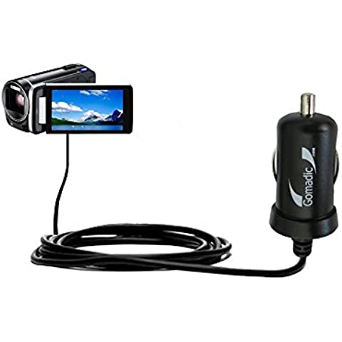 2A / 10W Caricabatterie DC per Auto compatibile con JVC Everio GZ-HM845 / HM860 / HM870 – Adotta la tecnologia TipExchange