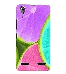 Vizagbeats color lemon pieces Back Case Cover for Lenovo A6000 Plus