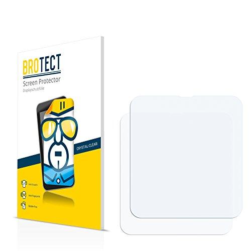 2x BROTECT Protector Pantalla Sony Smartwatch 3 SWR50 Película Protectora – Transparente, Anti-Huellas