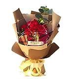 Y-H HY Seife Blume Seife Rose Bouquet Geschenk Box Geburtstag Geschenk Valentinstag Freundin rote Rose
