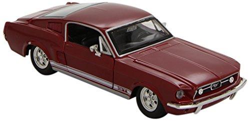 maisto-31260bl-vehicule-miniature-modele-a-lechelle-ford-mustang-gt-echelle-1-24