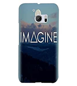 HTC ONE M10 IMAGINE Back Cover by PRINTSWAG