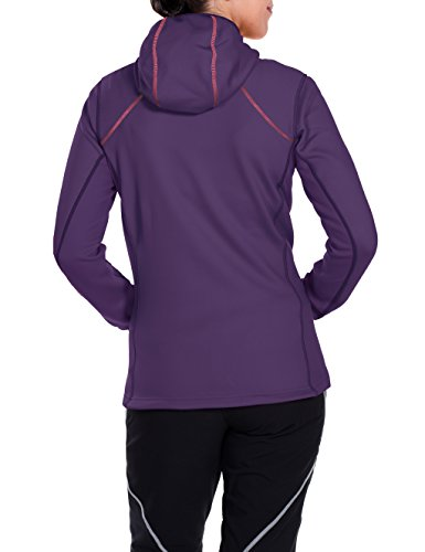 VAUDE Damen Jacke Basodino Hooded Jacket II Elderberry