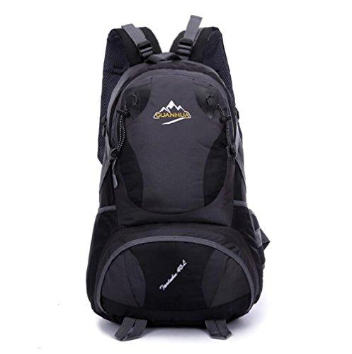 Wmshpeds La moda casual zaino grande e gli studenti delle scuole medie borsa computer borsa zaino di viaggio big bag E