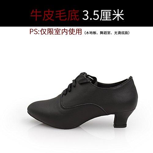 Wuyulunbi @ Chaussures De Danse Latine Chaussures De Danse Et Chaussures Indoor Black