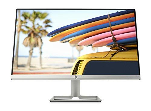 HP 24fw 3KS62AA (23,8 Zoll / Full HD IPS) Monitor (HDMI, VGA, AMD FreeSync, 1920 x 1080 Pixel bei 60Hz, 5ms Reaktionszeit) weiß / silber