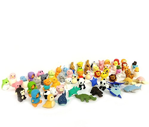 ccinee-animal-toy-erasers-party-bags-fillers-pack-of-40
