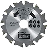 Tivoly XT50512004545 Lame scie circulaire meuleuse 125 mm
