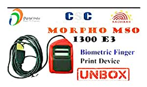 Morpho MSO 1300 e2 of Idemia - RD Registered Device Service 1 Year from  Radium Box