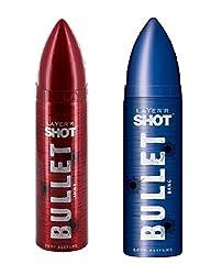Layerr Shot Bullet Bang & Ammo Deodorant For Men ( Set of 2 )
