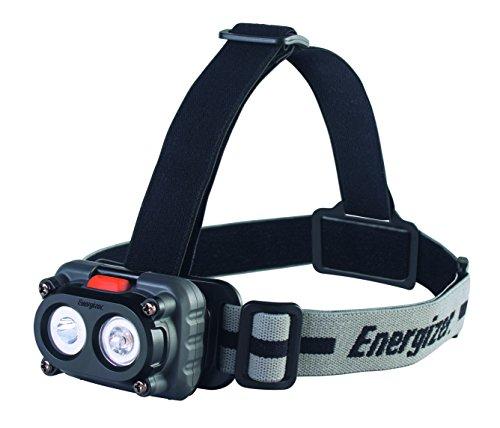 Energizer Magnet Headlight, 2 weiße LED, verschiedene Modi, magnetische Halterung, Kopfband mit Drehmodul, 3 Stück AAA Energizer Headlight
