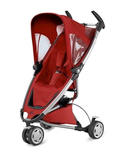 Quinny Zapp Kinderwagen Buggy Kombiset (mit Maxi-Cosi Babyschale erweiterbar, superleicht und kompakt, bis 15 kg) rot