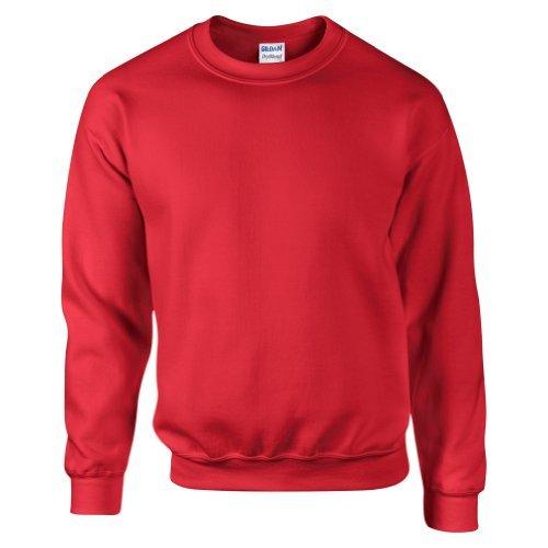 Sweatshirt Gildan pour homme (S) (Rouge)