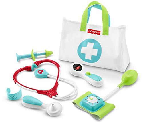 Fisher-Price Maletín pequeño doctor, juego de rol niño +3 años (Mattel DVH14)