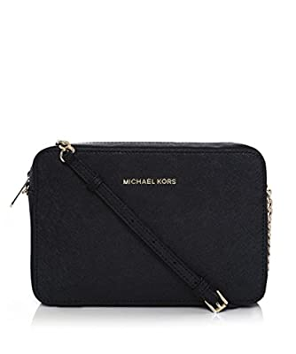 Michael Kors Womens Jet Set Large Cross-Body Bag