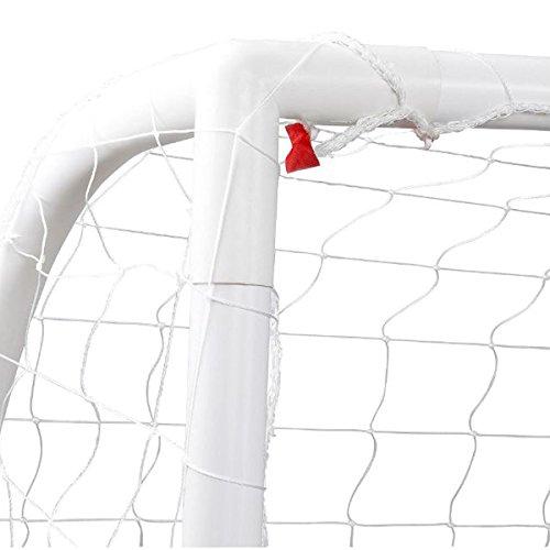 Debut Sport Kid s PVC Football Goal - White  12 x 6 ft