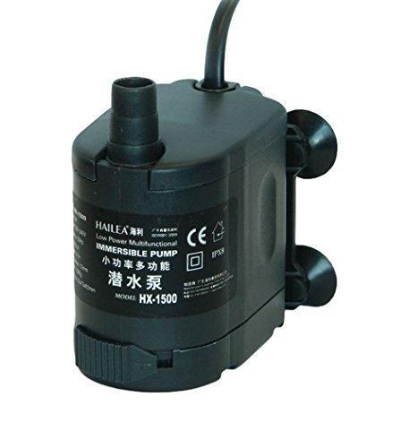 bare Pumpe, 400 l/h, maximal Förderhöhe 0,75 m, schwarz, 12x8x14 cm, 10-450-405 ()
