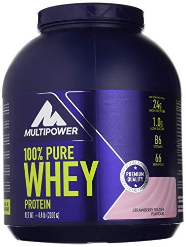 100% pure whey multipower 2kg strawberry splash
