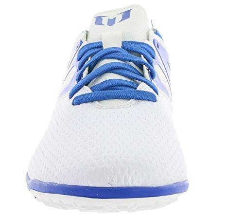 adidas Messi 10.3 Tf, Baskets Basses Garçon Blanco / Azul / Negro