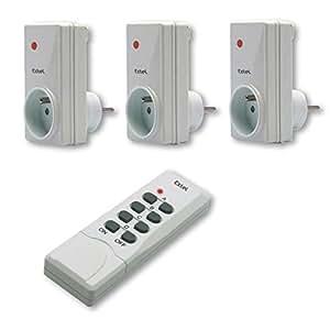 Extel DO 3115.2 Kit de 3 prises télécommandées
