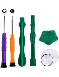 Kits de reparación 6 en 1 destornillador profesional kit de reparación de la herramienta abierta para el iPhone 6s y 6s Plus