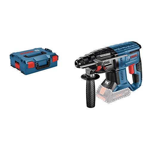 Bosch Professional Akku Bohrhammer GBH 18V-20 (ohne Akku, Schlagenergie: 1,7 Joule, max. Bohr-Ø in Beton: 20 mm, 18 Volt System, L-Boxx)