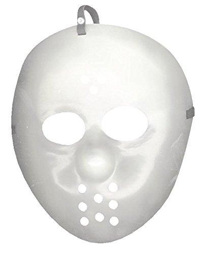 Jason Hockey Maske leuchtet im Dunkeln - Glow in The Dark Halloween Maske (Dark Halloween-maske In The Glow)