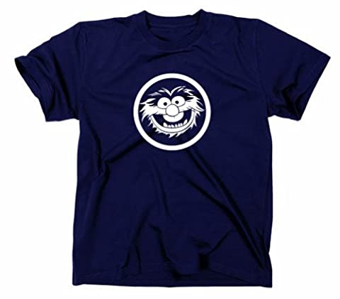 Animal Tier Muppets T Shirt, XXL, navy