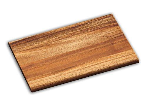SCHNEIDEBRETT Akazienholz 23x15x1cm Frühstückbrettchen Schneidbrett Küchenbrett Holzbrett Akazien Holz 07