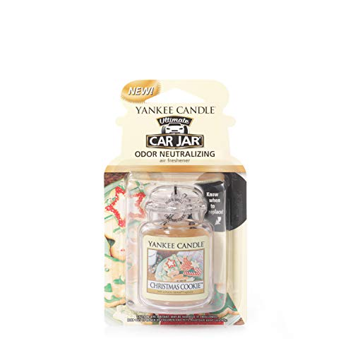 Yankee Candle 1220899 Deodoranti per Auto, Car Vaso Ultimate, Christmas Cook