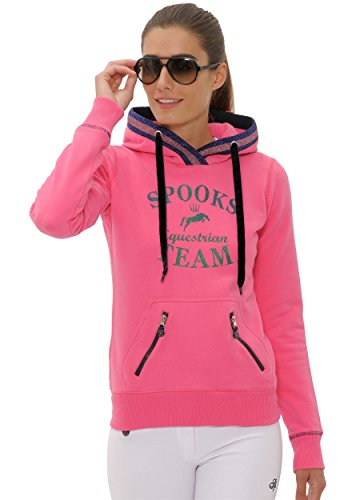 SPOOKS Pullover Maril Hoody pink Größe XS
