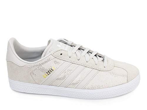 cheaper e8de7 12d9e adidas Gazelle J, Chaussures de Fitness Mixte Adulte, Blanc Griuno Ftwbla  000,