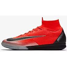 Nike SuperflyX 6 Elite CR7 - Zapatillas de fútbol para Interiores, M11W125, Rojo/