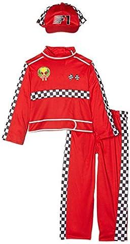 Formule 1 Racing Car Driver - Childrens Costume de déguisement - Toddler -Âge 2-3 - 104cm