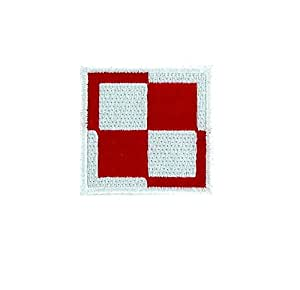 Patch ecusson brode aviation drapeau armee airforce air force pologne airsoft