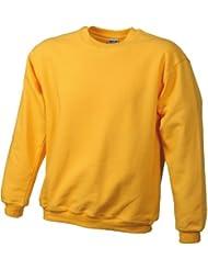 James & Nicholson Jungen Sweatshirt Sweatshirt Round Sweat Heavy Junior