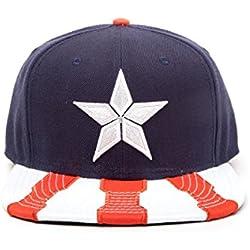 Oficial de Marvel Capitán América Guerra Civil Snapback gorra sombrero - un tamaño