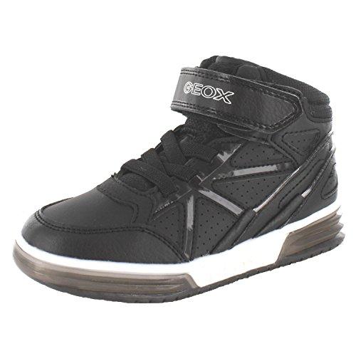 Geox J ARGONAT C Jungen Hohe Sneakers Schwarz (C9999BLACK)